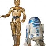 De nouvelles photos de C-3PO et R2-D2 MAFEX