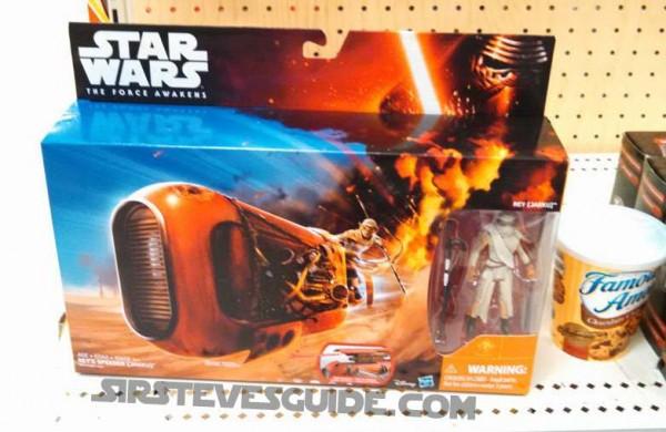 Rey Speeder star wars episode 7 the force awaken / Le réveil de la Force