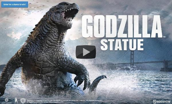 Sideshow Godzilla Statue Preview