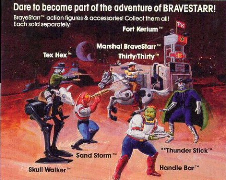Artwork Bravestarr
