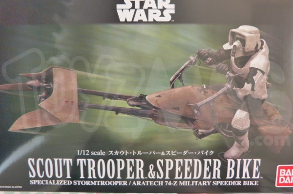 bandai scout trooper 1
