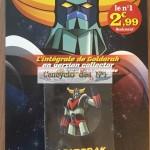 L'intégrale de Goldorak en DVD chez les marchands de journaux