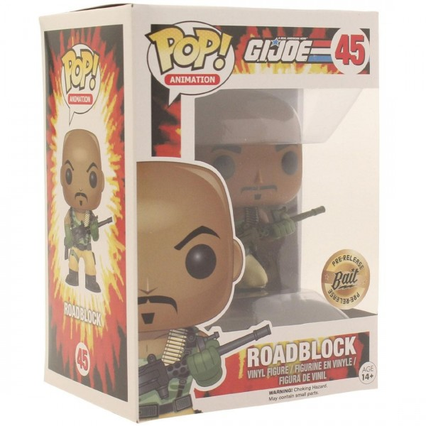 Funko GI JOE POP Roadblock