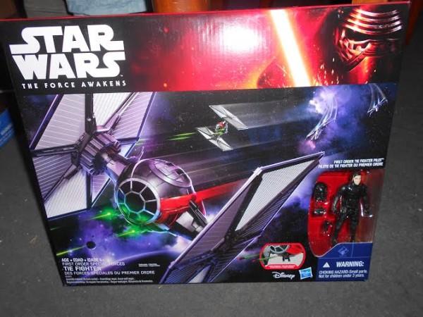 TIE First Order POE xwing TFA Star Wars Épisode 7 : Le Réveil de la Force