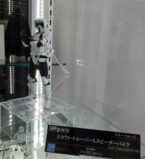 S.H.Figuarts Scout Trooper & Speeder Bike