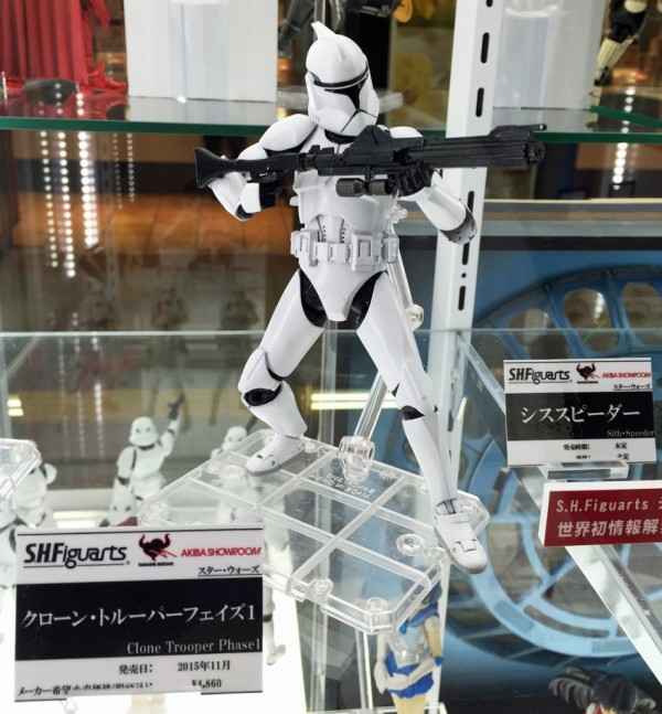 S.H.Figuarts Clone trooper Phase1