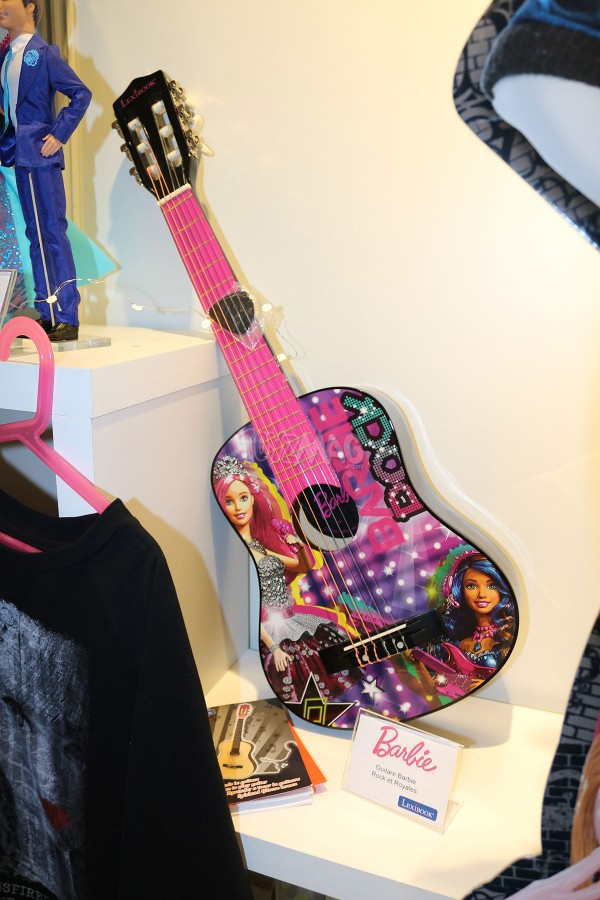 barbie princesse rock star