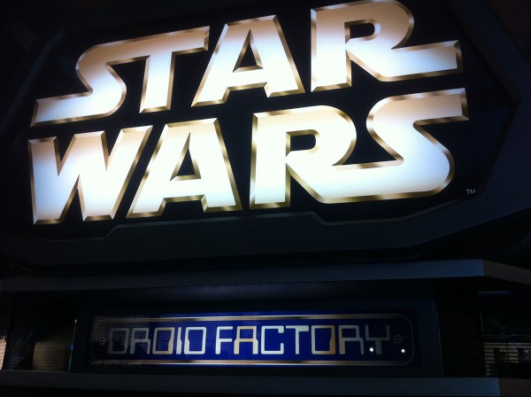 disneyland droid factory