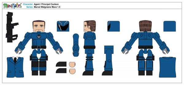 Marvel Walgreens Wave 1,5 - Agent Principal Coulson1