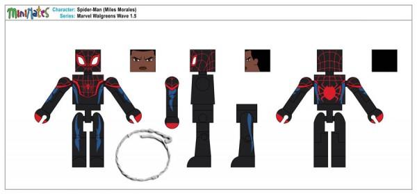 Marvel Walgreens Wave 1,5 - Spider-Man (Miles Morales)1a