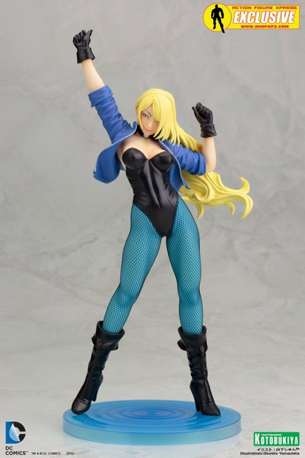 AFX Exclusive Black Canary Bishoujo Statue