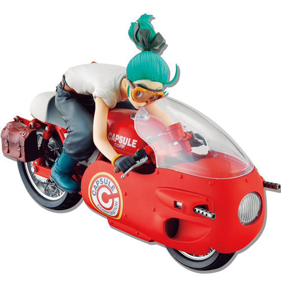 Desktop Real McCoy Bulma DRagon Ball