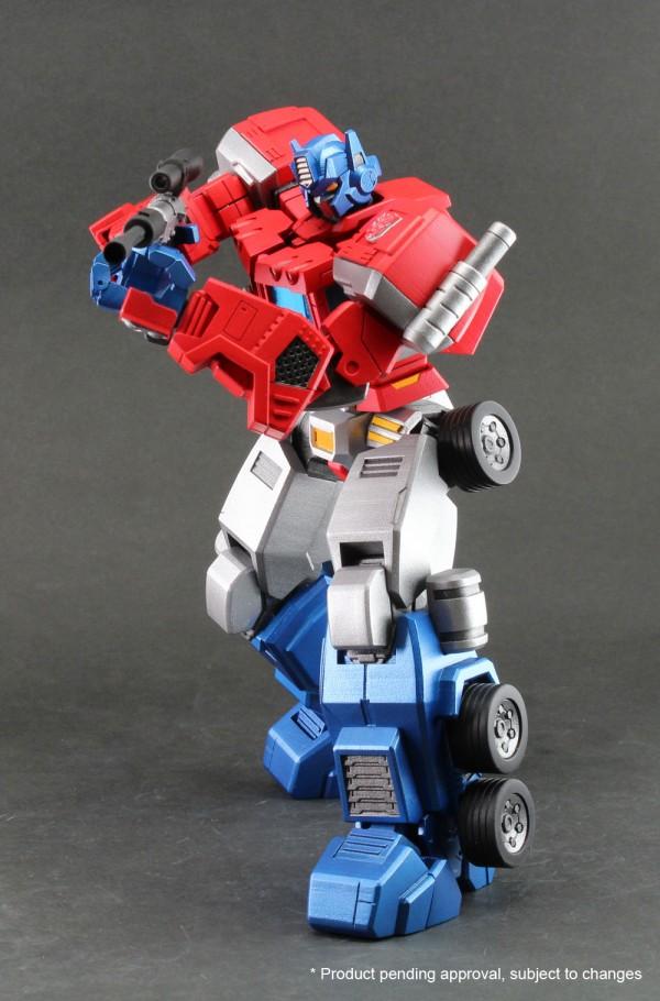 Hero of Steel 01 - Optimus Prime color sample