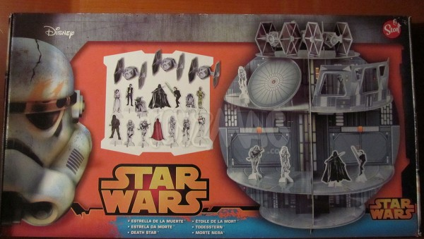 Death Star Playset étoile de la mort carton STAR WARS