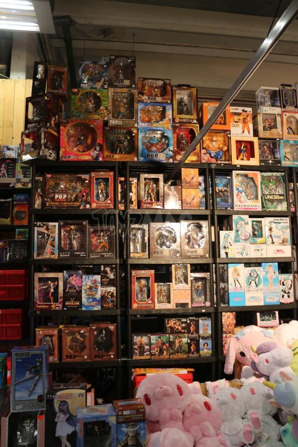 PARIS MANGA 20e édition  jouet et figurines