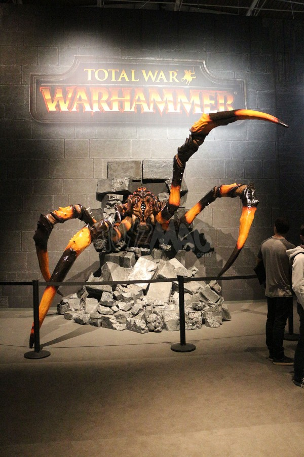 Paris Games Week 2015 WARHAMMER