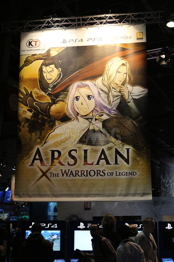 Paris Games Week 2015 Arslan