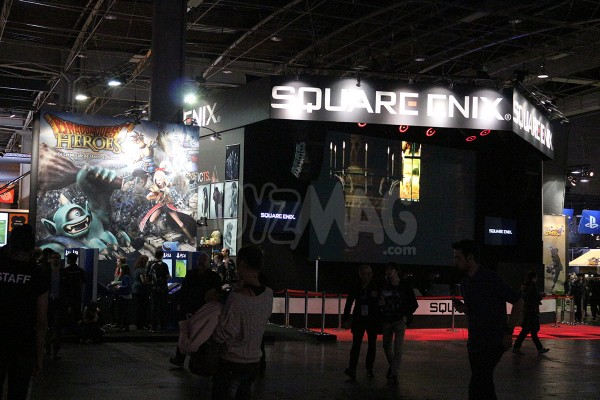 Paris Games Week 2015 square enix