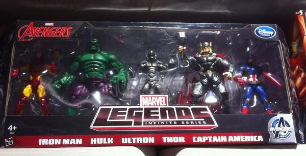 Marvel Legends disneystore exclu euro