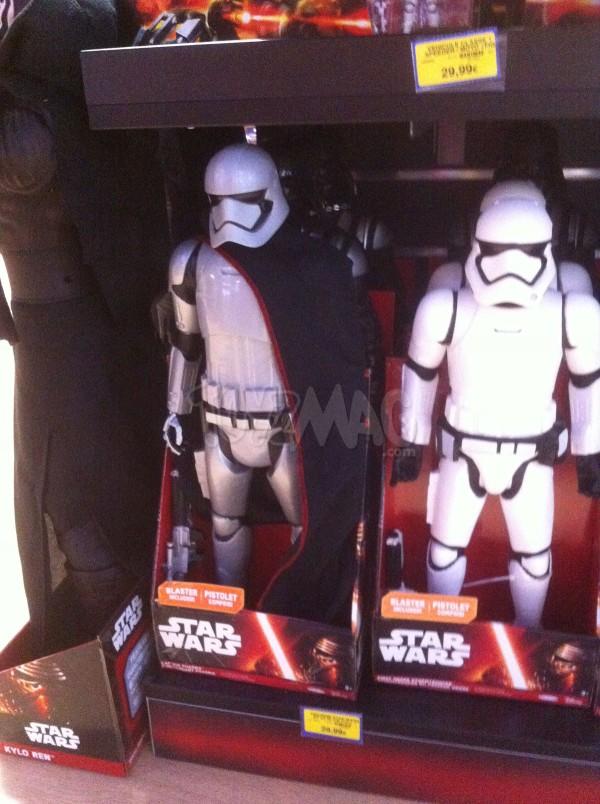 Star Wars episode 7 Le Réveil de la Force : Captain Phasma, Kulo Ren, First order Stormtrooper, Poe Dameron