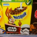 Goodies Star Wars  épisode 7 dans les céréales Nesquick