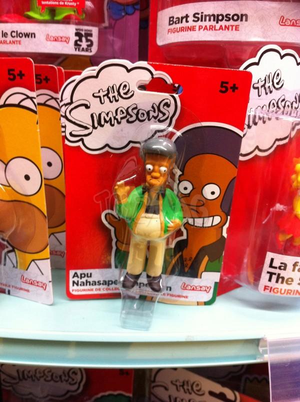 figurines PVC The Simpsons