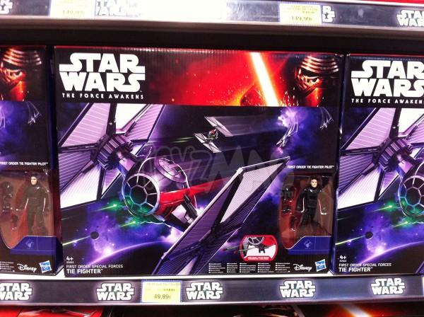 Star Wars Le Réveil de la Force Fisrt Order Special Forces Tie Fighter