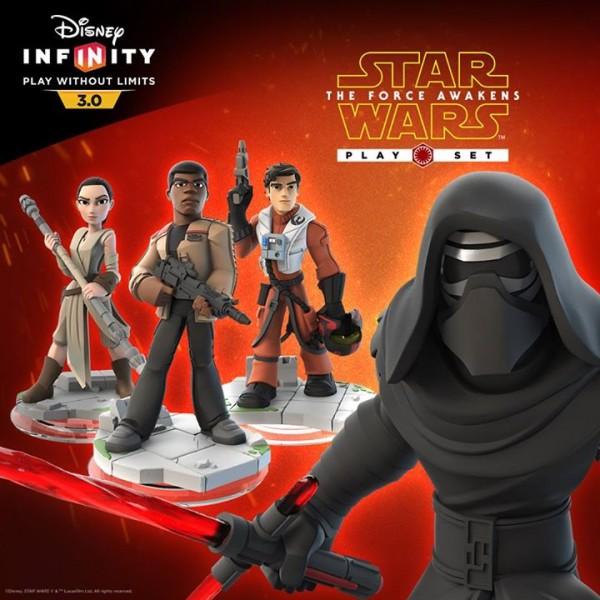 Star Wars : Le Réveil de la Force, arrive en décembre sur Disney Infinity 3.0 !