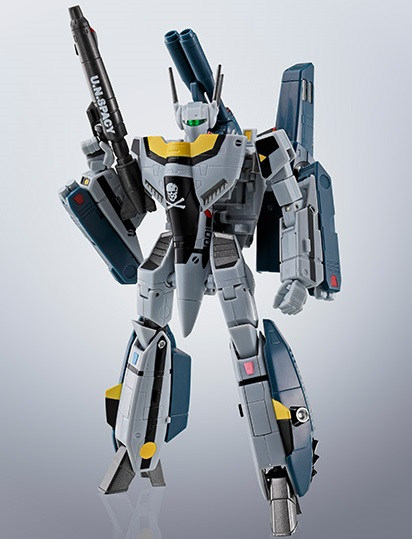 Reviews     News     Articles     Collections     Show     Blog     About     Home  Home » Bandai » Macross Hi-Metal R VF-1S Strike Valkyrie Roy Focker Special Macross Hi-Metal R VF-1S Strike Valkyrie Roy Focker Special