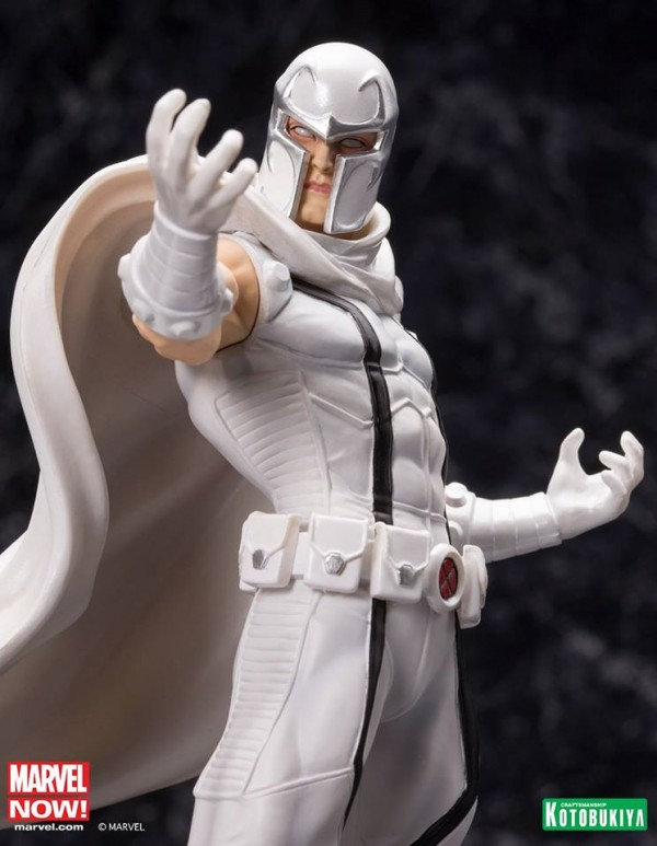 Marvel Comics Magneto White Costume PX Exclusive ARTFX+ Statue
