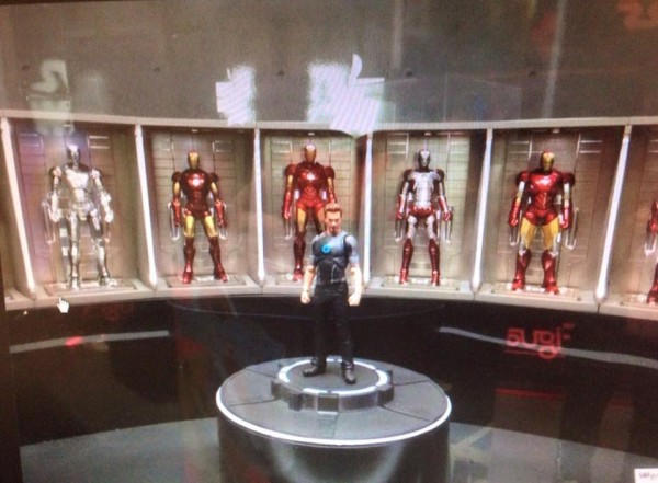 S.H.Figuarts Ironman Series Tony Stark  Ironman Series Hall of Armor