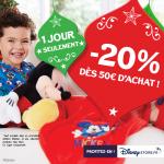 -20% sur vos commandes DisneyStore.fr