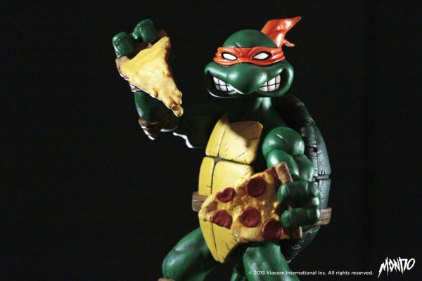 Mondo 1:6 Teenage Mutant Ninja Turtles Collectible Figure: Michelangelo