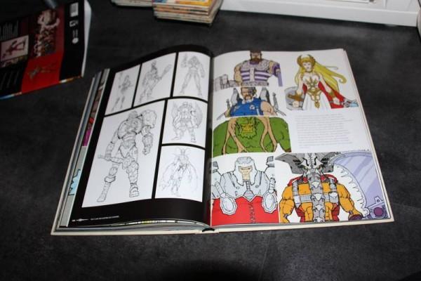 Dossier sur le livre  « Tout l'art des Maîtres de l'Univers »  édition française  HUGINN MUNINN EDITIONS