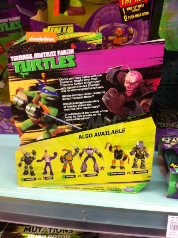 La Grande Récré du double pack exclu Michelangelo VS Rocksteady TMNT