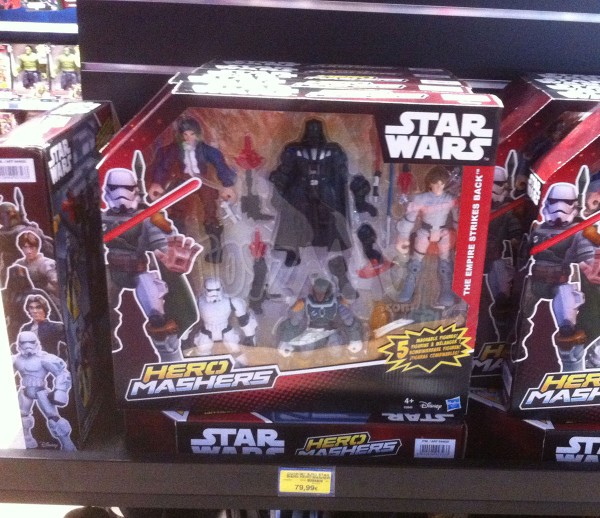 Star Wars Hero Masher 5 pack