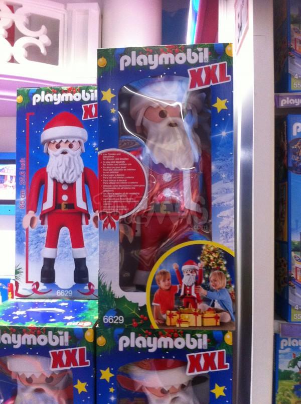 Playmobil Père Noel géant de 65cm de haut