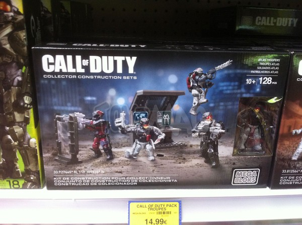Call of Duty de Mega Bloks !