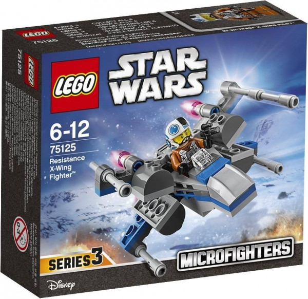 LEGOSTARWARS 75125 Resistance X-Wing Fighter