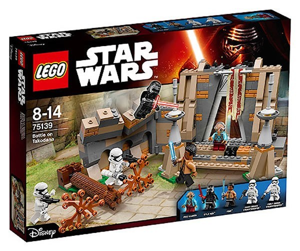 LEGO STAR WARS 75139 battle of takodana