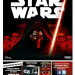 Catalogue Auchan rempli de Star Wars