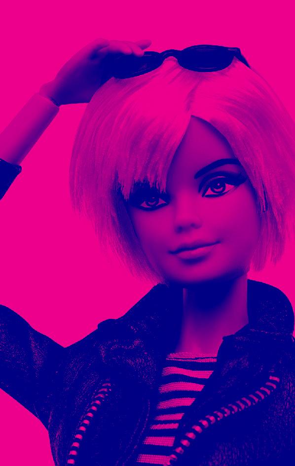Barbie Andy Warhol