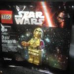 Lego mini-figurine C-3PO Le Réveil de la Force offert par Toys R Us