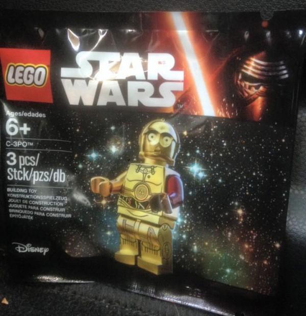 mini figurine lego C3PO TFA toysrus