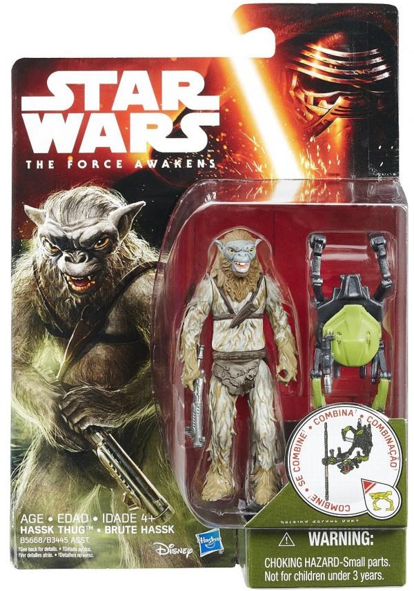 Hass Thug star wars figurine jouet réveil de la force
