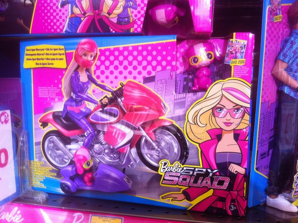 Barbie Spy Squad / Barbie Agent Secret !