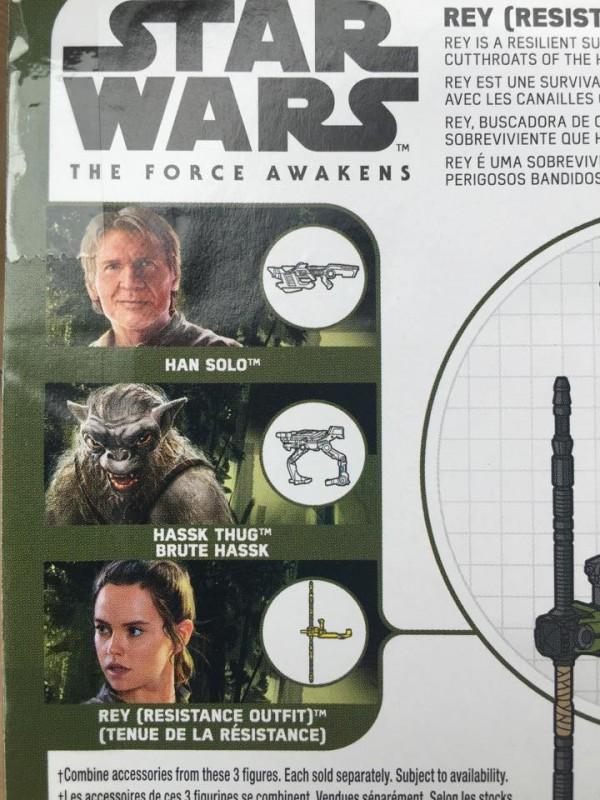 Rey Tenue de Resistance figurine TFA