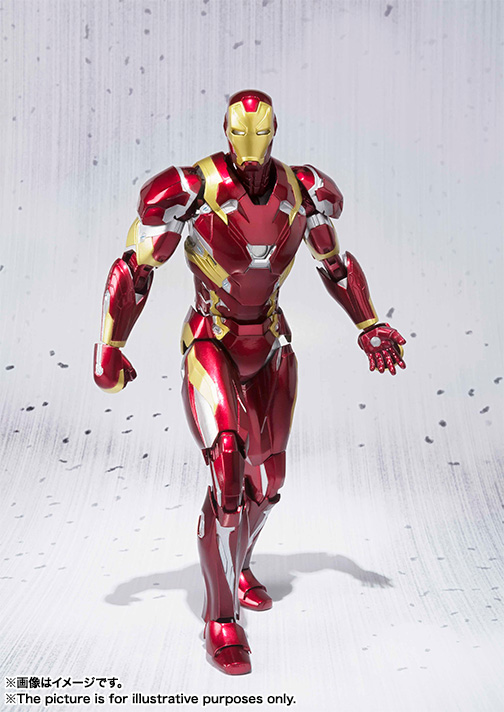 CAPTAIN AMERICA: Civil War SHFiguarts Ironman Mark 46