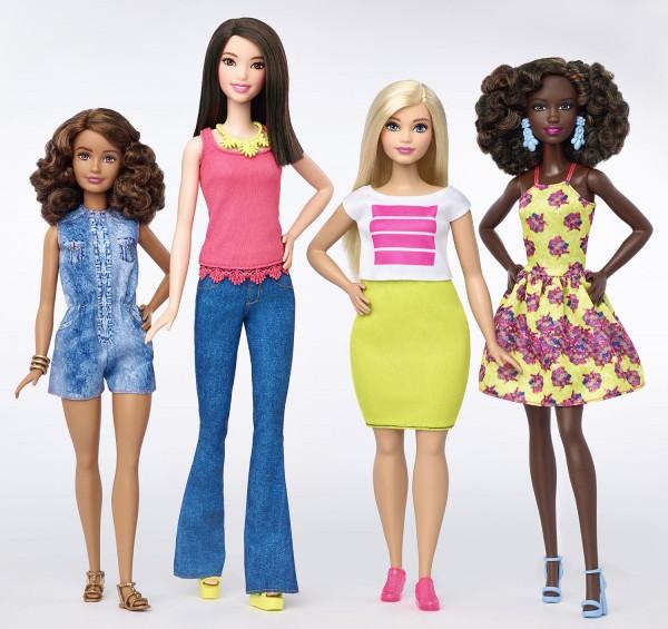 Barbie étend sa gamme de poupées Fashionistas avec 3 nouvelles silhouettes