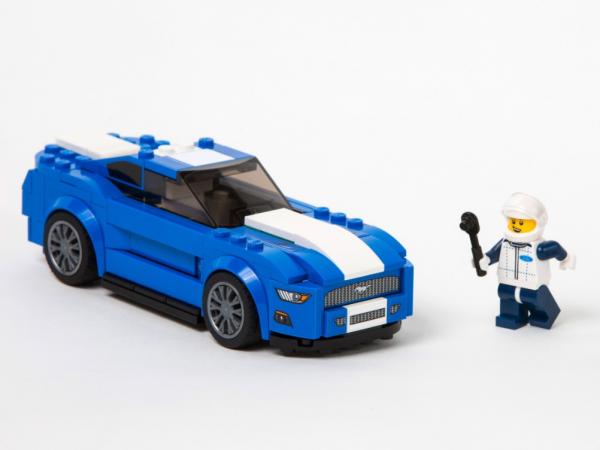 LEGO va lancer une Ford Mustang et un F-150 Raptor à construire
